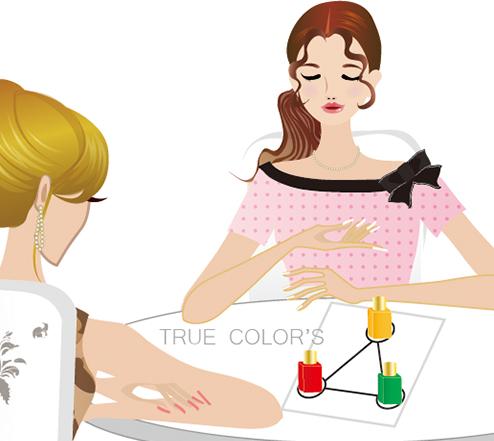 カラーセラピストはあなたの選んだ色の意味を伝えていきます。画像1