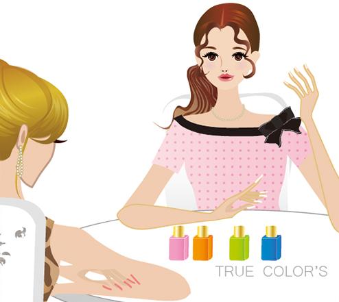 カラーセラピストはあなたの選んだ色の意味を伝えていきます。画像2